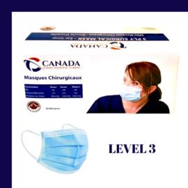 ASTM Level 3 Disposable Medical Masks – Box of 50