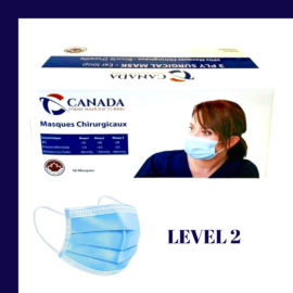 ASTM Level 2 Disposable Medical Mask- Box of 50