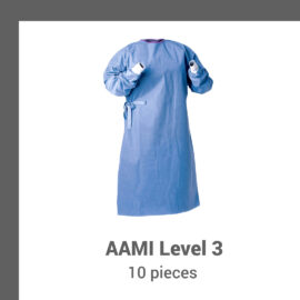 Surgical Isolation Gowns SMMS 45 gsm – 10 per Pack