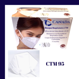 CTM 95 Folding Mask – A box of 20