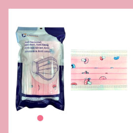 Kids Face Masks-Pink-20 per Package