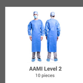 Isolation Gowns SMS 35 gsm – 10 per bag