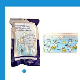 Kids Face Masks – Blue – 20 per Package